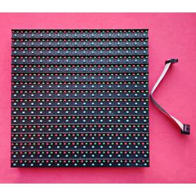 Modulo Led Rgb Outdoor Placa P16 256mm X 256mm Kit C/10