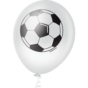 4a6625bbfa Balão Bola De Futebol Latex - Festas no Mercado Livre Brasil