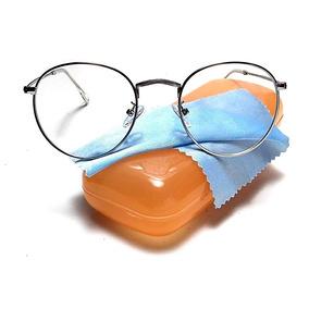 65798fd7e Oculos Da Larissa Manoela Redondo - Óculos Prateado no Mercado Livre ...