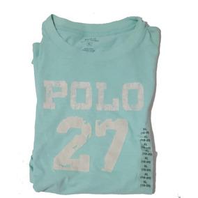 Camiseta Manga Curta Infantil Menino Original Polo Ralph Xl 306a1e3a921