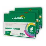Lavitan Hair Cabelos E Unhas Com 90 Comp (3 Cx)