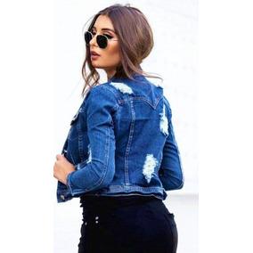 715dcd0e0 Jaqueta Jeans Destroyed - Coleção Outono inverno 2019
