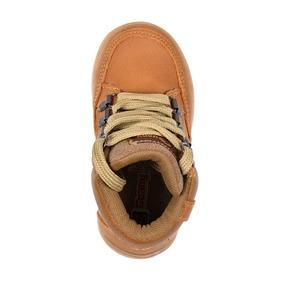 Calzado Niño Bebe Zapato Botin Casual Tipo Piel Ambar Comodo