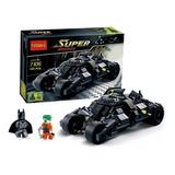 Batman Batimovil Tumbler Minifiguras Com/ Lego Armatodo Ajd