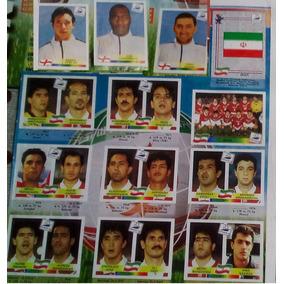 Figurinhas Do Ira E Inglaterra Album Copa 98 Replicas Raras