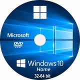 Licencia Win Dows10 Home-32/64bits Serial Original