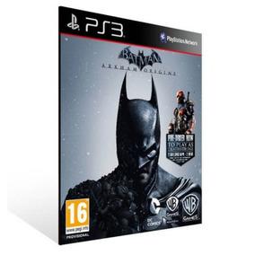 Batman Arkham Origins - Ps3 Midia Digital Original Psn