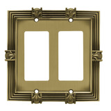 Brainerd 64459 - Placa Decorativa Doble Para Pared Piña Doub