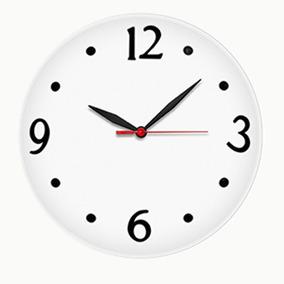 28d6f90d626 6352 Relógio De Parede Branco Ou Preto 30 Cm Herweg - Relógios no ...