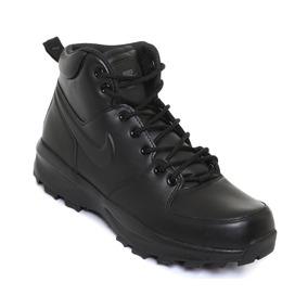 newest e4131 532b5 Tenis Bota Nike Manoa Leather Negro Hombre Nuevo 454350 003