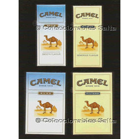 Bolivia, 4 Camel Box Regular Packs 2009, Bo-002-01 Al 04 Lle