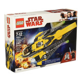 Lego Star Wars 75214 Caza Estelar Jedi De Anakin Con R2-d2