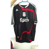 Camisa Futebol Liverpool 2012/13 Tamanho G