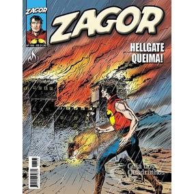 Revista Hq Gibi - Zagor 166 - Quadrinhos