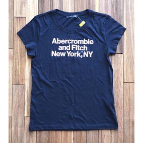 Camiseta Feminina Abercrombie Fitch - Camisetas e Blusas no Mercado ... 123bba8d5d316