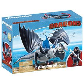 Playmobil - Como Treinar Seu Dragão - Drago E Thunderclaw -
