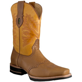 Bota Roper Rodeo Super Duty Welt Piel Genuine Leather Bovino