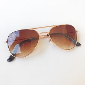 09427cdfa Oculos Aviador Marrom De Sol - Óculos no Mercado Livre Brasil