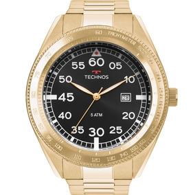 Relógio Technos Masculino Racer Dourado Promoção 2115mrl/4p