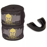 Bandagem Profissional 4mt Elástica+protetor Bucal - Promoção