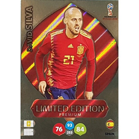 Card David Silva - Limited Edition Premium - Russia 2018
