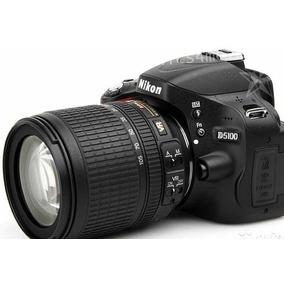 Camera Nikon D5100 Lente 18 105