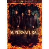 Supernatural Doceava Temporada 12 Doce Dvd