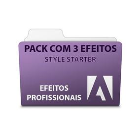 Pack 3 Efeitos Style Starter - Adobe Premiere