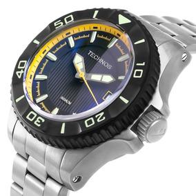 Relógio Diver Automático 8.000m - Technos Acqua Titânio