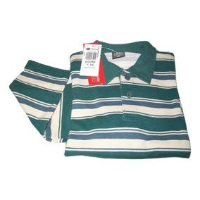 Camiseta Polo Masculina Infantil Manga Longa Hering Original 3df8213edf4