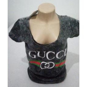 Blusinha Blusa Gucci Feminina Promoção Só Hoje 15fee52874a70