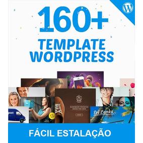 +160 Templates Site Wordpress Profissional Fácil Instalação