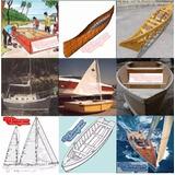 Planos Barcos Madera Canoas Kayak Velero Botes Yates Lanchas