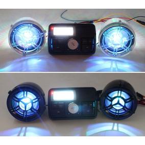 Radio Fm Bocina Para Motor / Motocicletas Bluetooth/ A Prueb