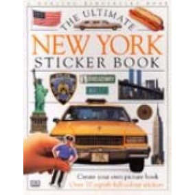 The Ultimate New York Sticker Book (over 70 Superb Full-colo