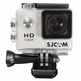Câmera Sjcam 4000 Prata Na Caixa