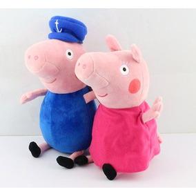 Vovô E Vovó Da Peppa Pig Pepa George - Pronta Entrega 058