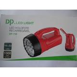 Lanterna Holofote Led Dp735 Alta Potência Recarregável
