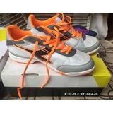 Botines Zapatillas De Fútbol Diadora Hombre Naranja Nuevas