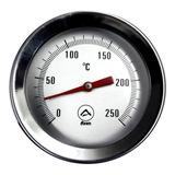 Termómetro Axen Punta Pinche Analógico 0° A 250°
