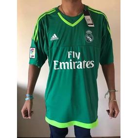 Camiseta Real Madrid Verde - Camiseta del Real Madrid para Adultos ... 90411597309e3