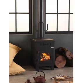 Estufa Calefactor A Leña Alto Rendimiento Ñuke Cabaña