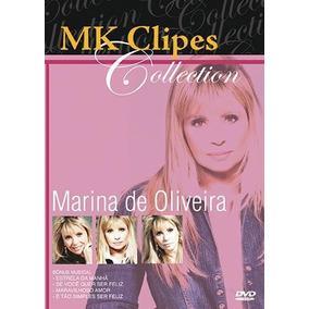 Dvd Mk Clipes Collection Marina De Oliveira Lacrado
