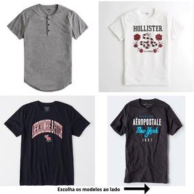 Camiseta Aeropostale/hollister/abercrombie Original