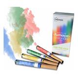 10 Fumaças Coloridas Bastão 20mm Chá Revelação - Fotos