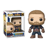 Funko Pop Captain America 288 Avengers Coleccionable Full