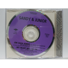 Sandy E Junior Cd Single Em Cada Sonho / My Heart Will Go On