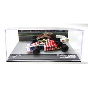Lendas Brasileiras Ayrton Senna Toleman Tg184 1984 S/ Acrili