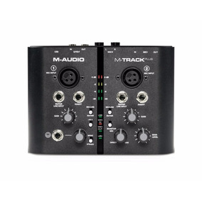 Placa Interface M-audio M-track Plus Usb Original