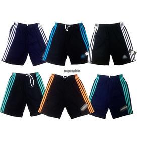 Kit 10 Shorts Masculino Dry Fit Academia Esportes 36 Ao 46. R  140 d2b8b8334494a
